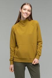 Audimas Women Soft Touch Modal Sweatshirt Olive Green XS