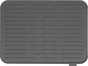 Силиконовый коврик для сушки посуды Brabantia, 44х32 см, Dark grey