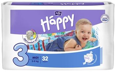 Autiņbiksītes Bella Baby Happy Midi, 3, 32 gab.