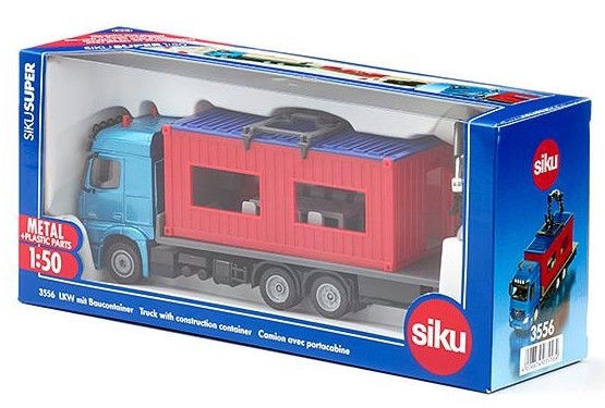 Siku Truck With A Container 3556