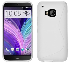 Telone Back Case S-Case HTC One M9 Silicone White