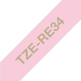 Uzlīmju lenta Brother TZe-RE34, 400 cm