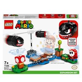 Konstruktors LEGO® Super Mario Būmera Bila aizsprosta paplašinājuma maršruts 71366, 132 gab.