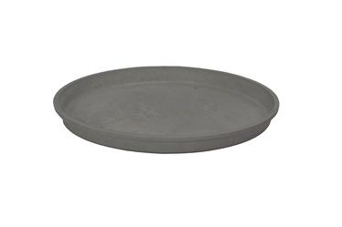 SN Pot Saucer Light Charcoal 13Y Ø22.4cm Grey