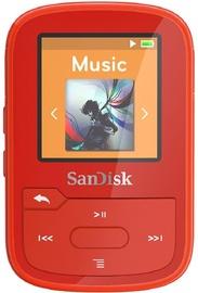 Музыкальный проигрыватель Sandisk Sansa Clip Sport+ Red, 16 ГБ