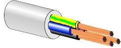 KABELIS 4X1.5 OMY (BVV-LL/H05VV-F) (100)