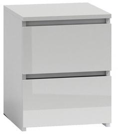 Ночной столик Top E Shop M2 Malwa, белый, 40x30x40 см