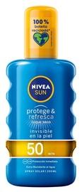 Sprejs saules aizsardzībai Nivea Sun SPF50, 200 ml
