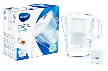 Посуда для фильтрации воды Brita Aluna 3.5, 3.5 л, белый