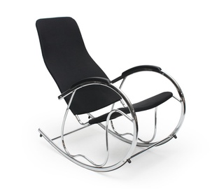 Atzveltnes krēsls Halmar Ben 2 Black, 97x55x99 cm