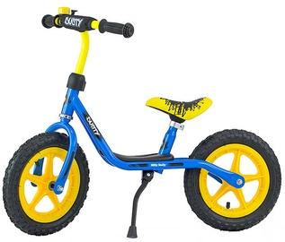 Балансирующий велосипед Milly Mally 3289, синий/желтый, 12″