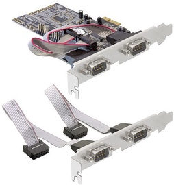 Delock PCIE to 4 x Serial Port Expansion