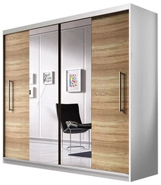 Idzczak Meble Wardrobe Rico White/Sonoma Oak