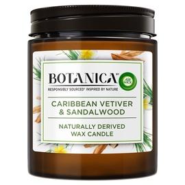 Свеча Air Wick Botanica Caribbean Vetiver & Sandalwood, 40 час