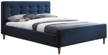 Кровать Signal Meble Pinko Blue, 160 x 200 cm