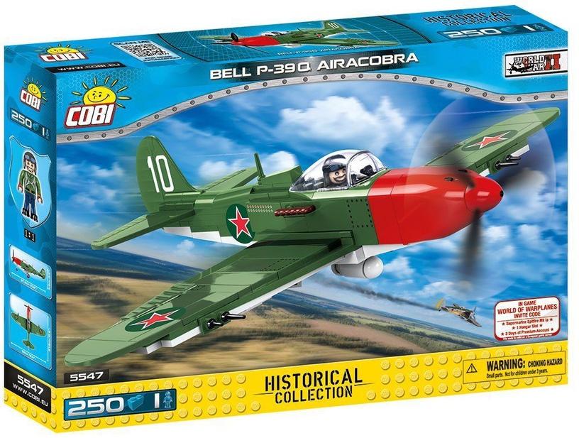 Konstruktors Cobi Small Army Bell P-39Q Airacobra 5547, 250 gab.
