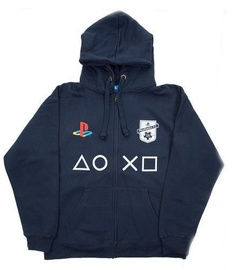 Licenced Playstation FC Zip-Up Hoodie Dark Blue M