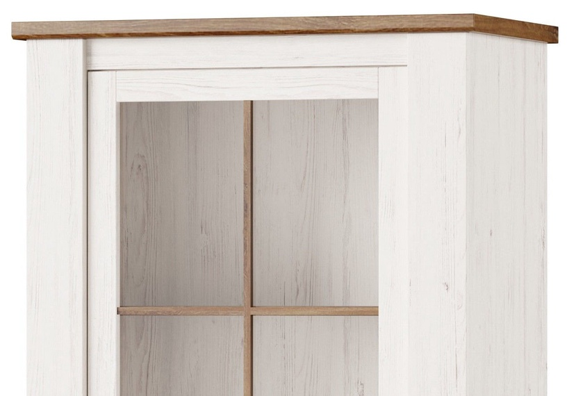 Szynaka Meble Glass Display Cabinets Country 10 White
