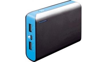 Ārējs akumulators Platinet PMPB6BBL Blue, 6000 mAh