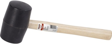Kreator Rubber Hammer Wood 700g Black
