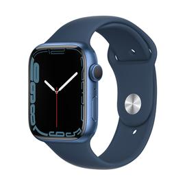 Viedais pulkstenis Apple Watch Series 7 GPS 45mm Aluminum, zila