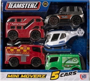 HTI Teamsterz Mini Moverz 5pcs