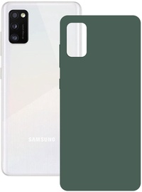 Ksix Silk Back Case For Samsung Galaxy A41 Green