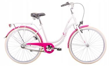 "Romet Angel 19"" 26"" White Pink 19"