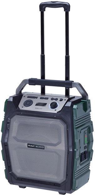 Bezvadu skaļrunis MAC AUDIO MRS 777 Green, 150 W