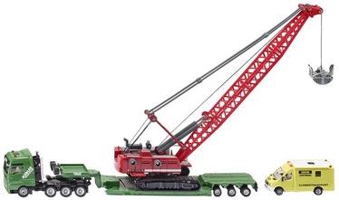Наборы Siku Heavy Haulage Transporter With Cable Excavator & Service 1834