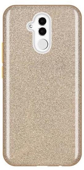 Wozinsky Glitter Shining Back Case For Huawei Mate 20 Lite Gold