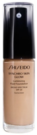 Shiseido Synchro Skin Glow Luminizing Fluid Foundation SPF20 30ml R4