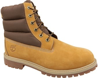 Timberland Heritage 6 Inch Quilit Kids Boots C1790R Yellow 36