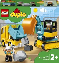 Конструктор LEGO® Duplo Town Грузовик и гусеничный экскаватор 10931