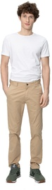 Audimas Tapered Fit Cotton Chino Pants Travertine 184/50