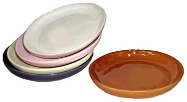 SN Ceramic Pot Plate L-3 Ø15cm White
