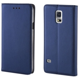 TakeMe Smart Magnetic Fix Book Case For Samsung Galaxy A40 Dark Blue