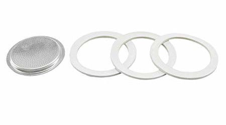 Bialetti 3 Gaskets For 10 TZ Coffee Makers