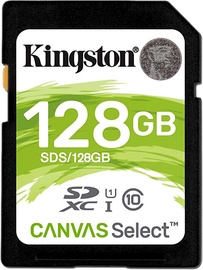 Kingston Canvas Select 128GB SDXC UHS-I Class 10