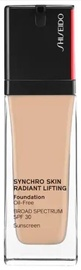 Tonizējošais krēms Shiseido Synchro Skin 260 Cashmere, 30 ml