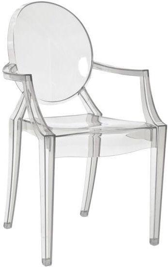 Ēdamistabas krēsls Signal Meble Luis Transparent