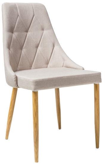 Ēdamistabas krēsls Signal Meble Trix II Beige, 1 gab.