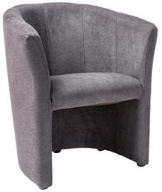 Atzveltnes krēsls Signal Meble TM-1 Grey, 67x46x76 cm