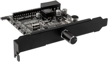 Пульт управления светодиодного освещения Lamptron CFp30 ARGB Sync Fan and RGB LED Controller PCIE Black