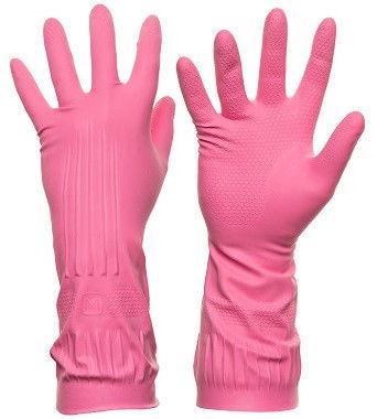 DD Rubber Gloves Pink L
