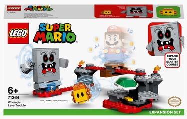Konstruktors LEGO® Super Mario Whomp nedienas ar lavu: paplašinājuma maršruts 71364, 133 gab.