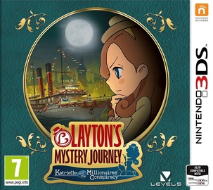 Layton's Mystery Journey: Katrielle and the Millionaires' Conspiracy 3DS