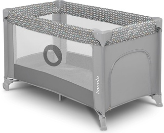 Детская кроватка Lionelo Stefi Grey Concrete