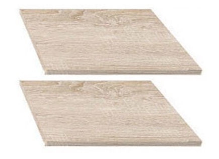 Black Red White Nepo 3D2S Shelves Sonoma Oak