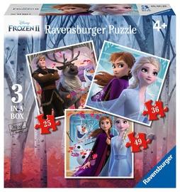 Puzle Ravensburger Disney Frozen 2 3in1 03033, 110 gab.